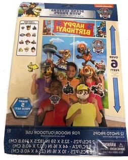 Paw Patrol WALL BANNER DECORATING KIT 17pc) ~ Birthday Party