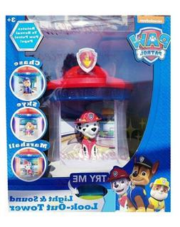 Playthings Nickelodeon Paw Patrol Light & Sound Look-Out Tow