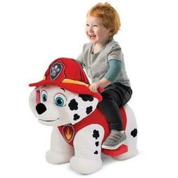 Plush Paw Marshall Ride On Electric Car Toys For 1 2 3 4 Yea