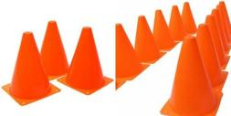 Fun Express Set of 12 Sport Training Traffic Cones Soccer Co