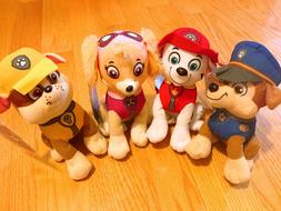 Set of 4 NWT Nickelodeon Paw Patrol Character Puppy Dog Pals