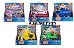 Set of 5 Paw Patrol Ultimate Rescue Vehicles Chase Marshall