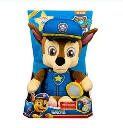 PAW Patrol, Snuggle Up Chase Plush with Flashlight and Sound