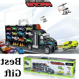 iBaseToy Toy Cars Transport Car Carrier Truck Educational Ve