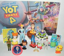 Disney Toy Story 4 Movie Figure Set of 10 With New Character