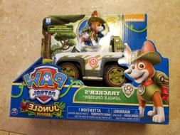 Paw Patrol Tracker Jungle Cruiser Rescue Toy Vehicle Figure