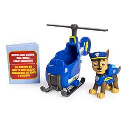 PAW Patrol Ultimate Rescue Chase's Mini Helicopter with Coll