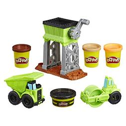 Play-Doh Wheels Gravel Yard Construction Toy with Non-Toxic